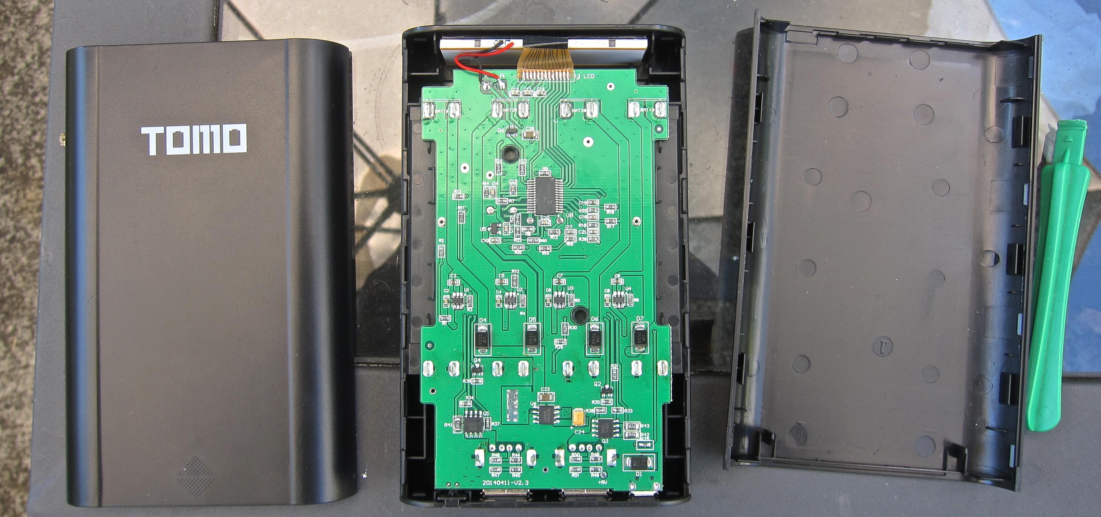 Tomo V8-4 / Soshine E3 DIY USB Charger / Power Bank Teardown | Power ...